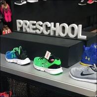PreSchool Sneakers Merit A Dimensional Sign