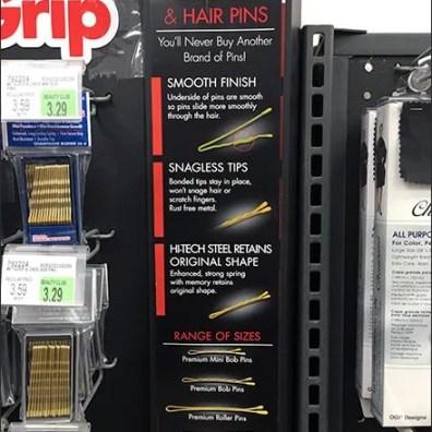 Premium Hair Bob Bobby Pin Feature Benefits