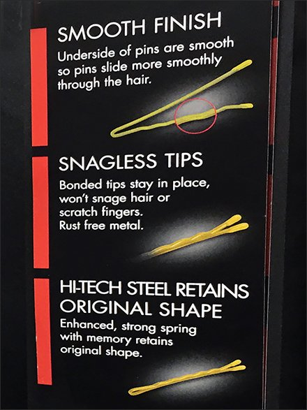 Premium Bobby-Pin Features and Benefits