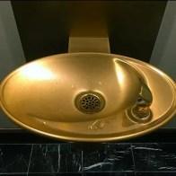 Ritz Carton® Gold Water Fountain for V.I.P.s