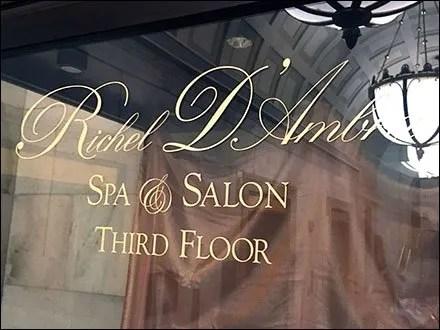 Ritz Carlton Museum Case for Richel D'Ambra
