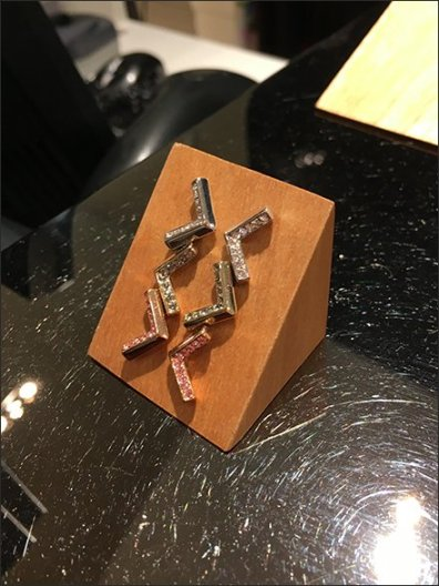 Wood Jewelry Forms at Karen Millen