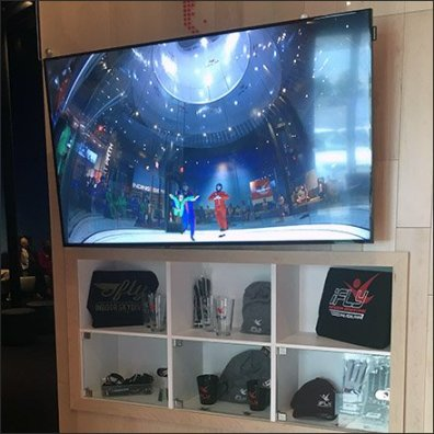 iFly InDoor Skydiving Lobby Promotional Video