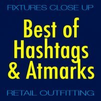 Best Hashtags and Atmarks in Retail