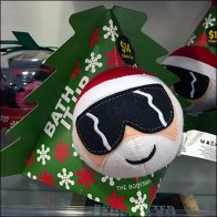 Bath-It-Up Christmas Pouf Kit by Body Shop