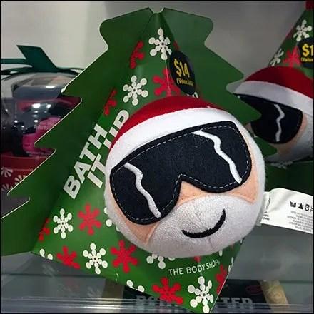 Bath-It-Up Christmas Pouf Kit by Body Shop