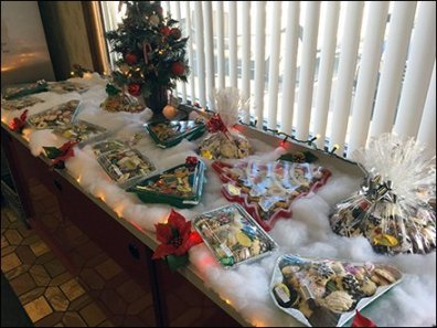 Christmas Bakery Buffet 2