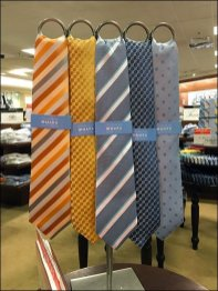 Ringed Table Stand For Mara Neckties