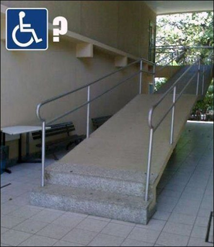 Don't Make it Easy for The Handicapped