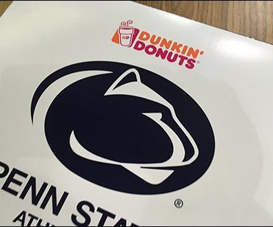 Dunkin' Donuts Penn State Nittany Lions Packaging 3
