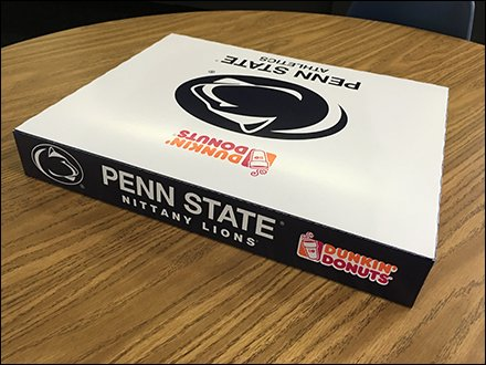 Dunkin' Donuts Backs Penn State Nittany Lions