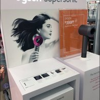 Dyson SuperSonic Hair Dryer Display POP 5