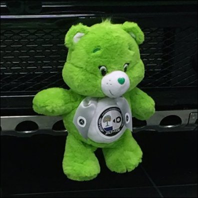 G63 Alien Green AMG Teddy Bear Aux
