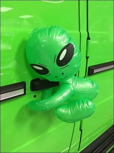 G63 Alien Green Gremlins 3
