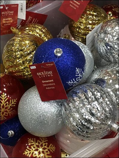 Giant Christmas Ball Tote Bins 3