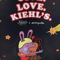 Give Love. Kiehls Easel 2