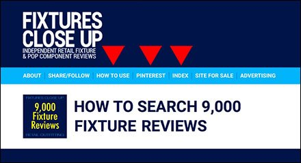 How To Research Store Fixtures - Search 9,000 Fixture Reviews
