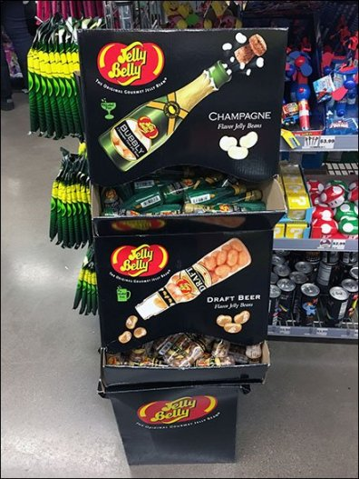 Champagne and Draft Beer Jelly Belly Jelly Beans