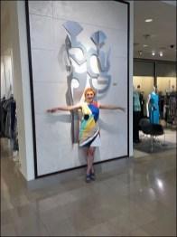Neiman Marcus® Metal Sculpture In-Store Amenity