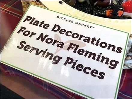 Nora Fleming Serving Pieces Plate Decoration