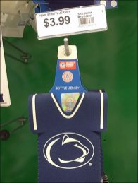 Penn State Party Favors FISH-Tip-Scan-Hooks