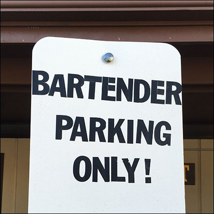 Hospitality Retail Bartender Parking Only Regulations