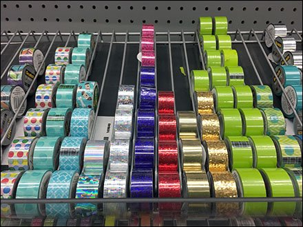 Scotch Expressions Tape Color-Coded Gravity Feed