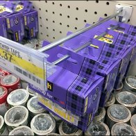 Scotch Purple Plaid Family Pack Gift Tape