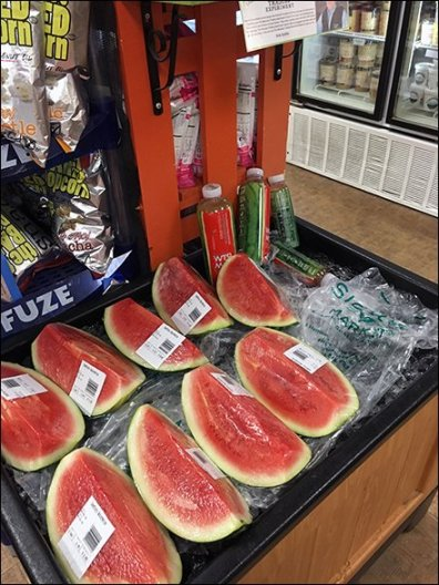 Sickles Iced Watermelon End-Aisle Bin