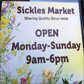 Sickles Market National Wildlife Federation Certified