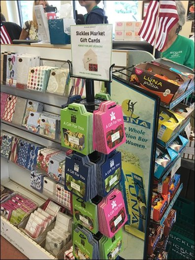 Sickles Market Small Footprint Gift Card Tower