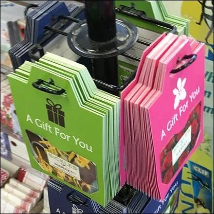 Small Footprint Gift Card Tower At Sickles