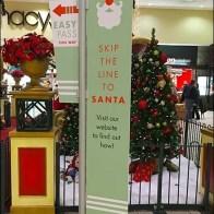 Skip The Line To Santa, Use The Website
