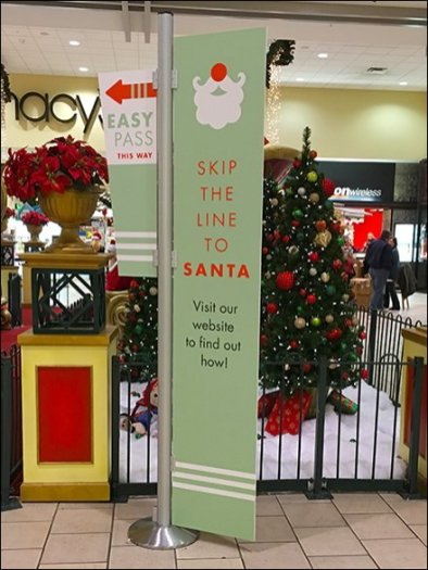 Skip The Line To Santa, Use The Website