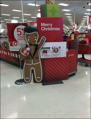 Gingerbread Man Merry Christmas Catalog Offer