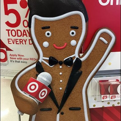 Target Gingerbread Man Merry Christmas 3