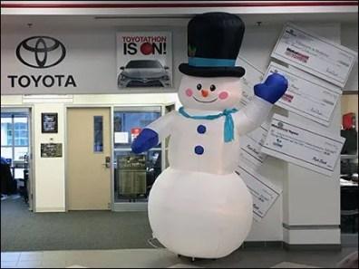 Toyotathon Christmas Sale Inflatables 2