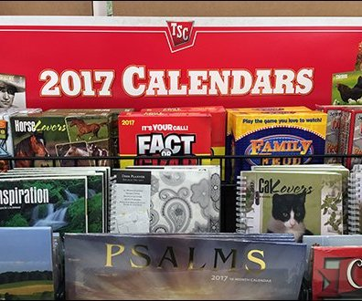 Tractor Supply 2017 Calendar Display