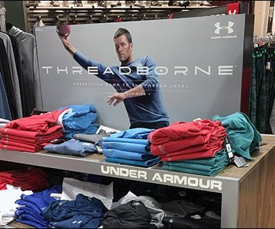 Under Armour Throws a Pass With Threadborne 2