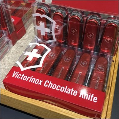 Victorinox Swiss Army Knife Now In Chocolate
