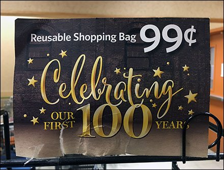 Shopping Bags as 100th Anniversary Brand Extension