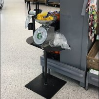 Weigh Scale Merchandise Abandonment In Produce
