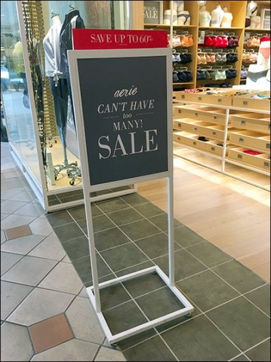 Can't Have Too Many Aerie Sale Easel