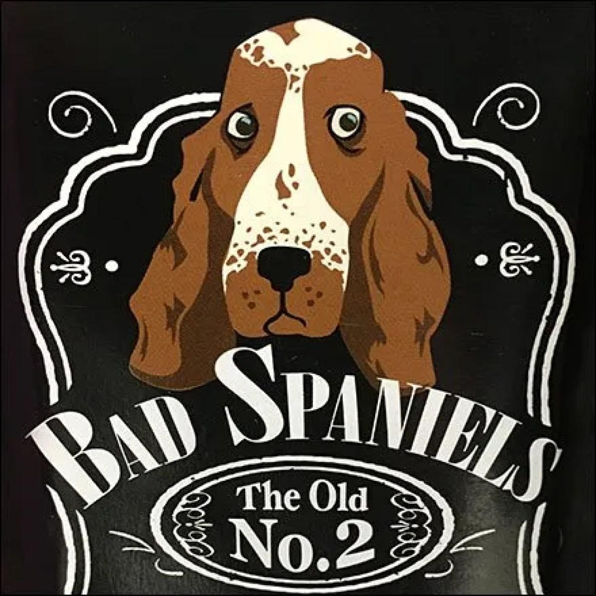 Bad Spaniels Take-Off on Jack Daniels
