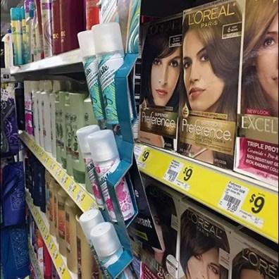 Batiste Dry Shampoo Corrugated Strip Merchandisers S-Hook 3
