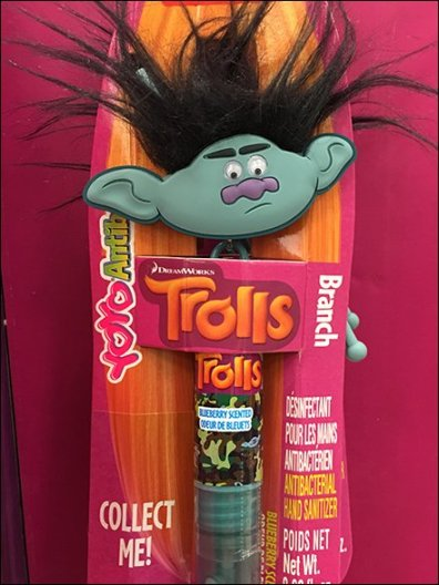 Collectable Troll Doll Lip Gloss 2