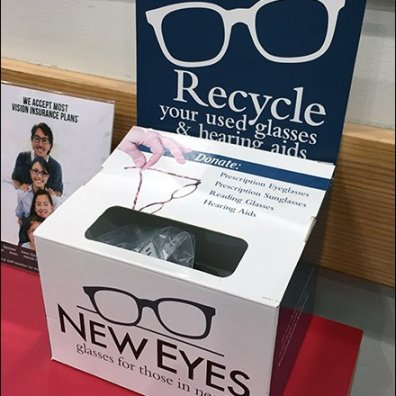 New Eyes Recycles Eyeglasses At Costco