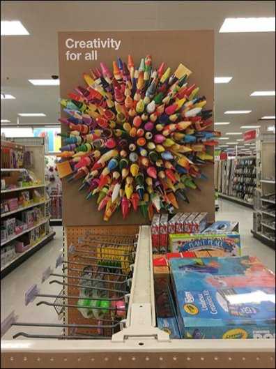 Creativity For All Colorful Star Burst Visual
