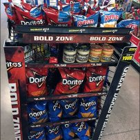 Doritos Bold Zone Bumper Guard Island Branding