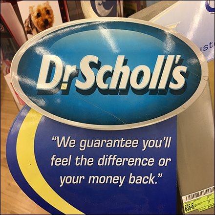 Dr. Scholl's Footmapping Custom Orthotic Center Gurantee Aux